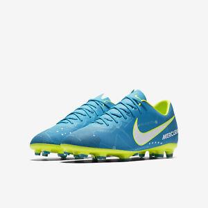 3520e4785e82 Nike Junior Mercurial Vapor XI Neymar Jr FG - Orbit Blue   Volt