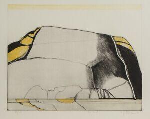 Carl-Heinz-Kliemann-Farbradierung-Die-Insel-40-Exem-1972-handsigniert