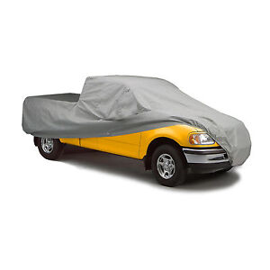 FORD F-SERIES CREW CAB SHORT BED PICKUP TRUCK 5-LAYER CAR COVER 1979-1986