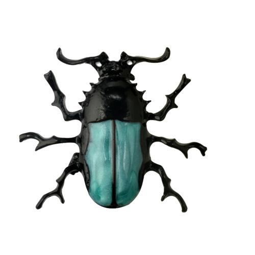 Vintage enamle strass Abeille//Coccinelle//Papillon Insecte Insecte Broche Breastpin