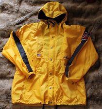 POLO Sport Ralph Lauren Vintage Yellow Anorak Windbreaker Jacket Mens Size XL