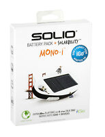 Solar Panel Solio Battery Charger+usb Cable For Motorola Droid Android Phone