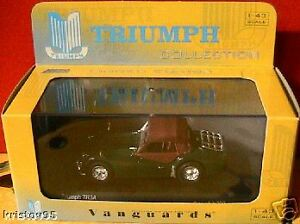 TRIUMPH-TR3A-BRITISH-RACING-GREEN-VANGUARDS-1-43-UK-NEW-VA04703-ROADSTER