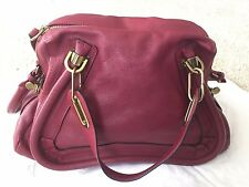 Burgundy/Red medium Chloe paraty bag -BRAND NEW with TAGS and receipt, authentic
