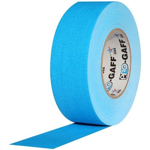 Pro Gaff Fluorescent Blue Gaffers Tape 2 inch x 50  yards