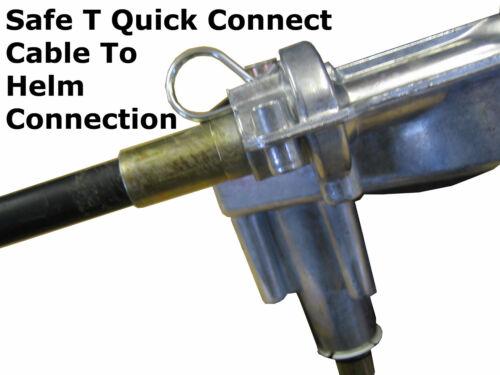 No Wheel 24ft Boat Steering System Kit Teleflex//Seastar Cable /& Helm Unit 150hp