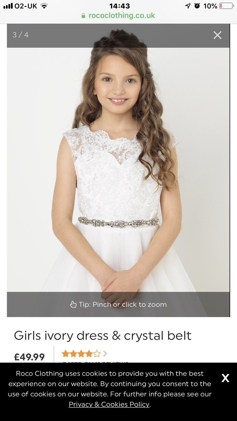 Party; Flower or Bridesmaid Dress