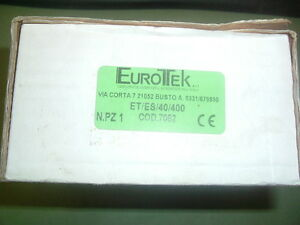 EUROTEK ETES40400  RELAY SOLID STATE COD 7052  NEW  BOXED - MIDHURST, West Sussex, United Kingdom - Returns accepted Most purchases from business sellers are protected by the Consumer Contract Regulations 2013 which give you the right to cancel the purchase within 14 days after the day you receive the item. Find o - MIDHURST, West Sussex, United Kingdom