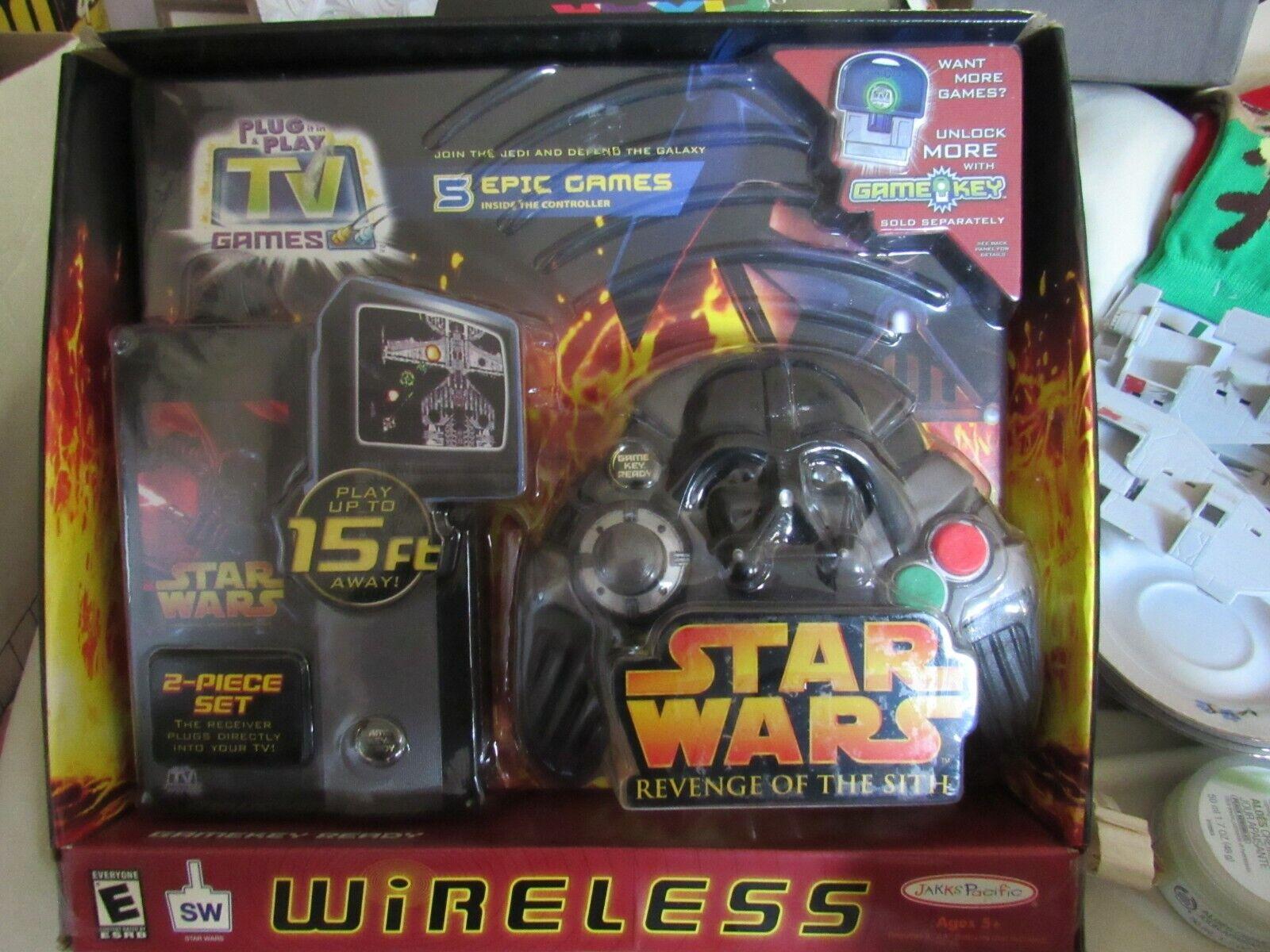 Star Wars Revenge of Sith Wireless Plug /& Play TV Games 2005 Jakks Pacific for sale online