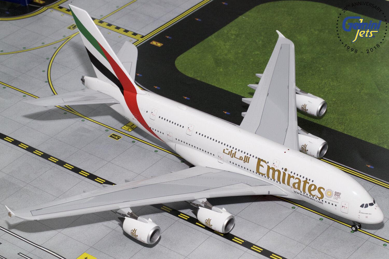 Emirates Airbus A380 A6-EUC NEUF EXPO 2020 Gemini jets G2UAE772 1 200