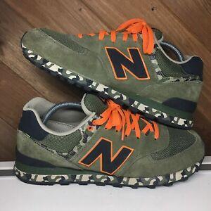 order online limited guantity united kingdom Details about New Balance 574 Camo Leather Green Orange Black Sneaker  Camouflage Men Shoe 10.5