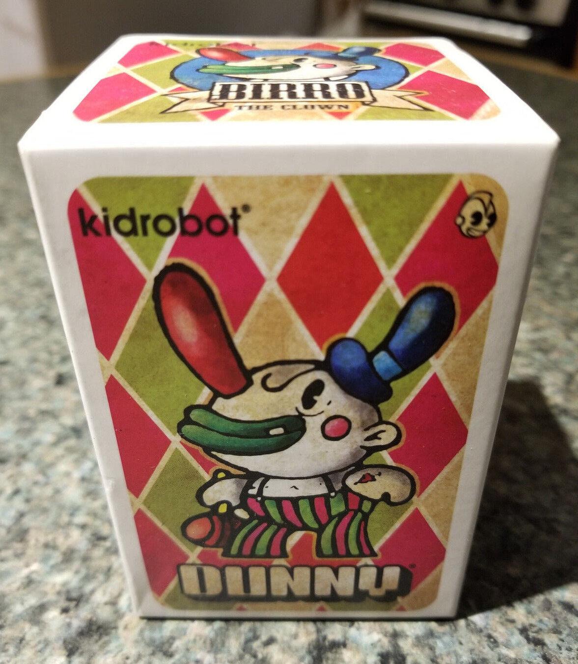 Kidrobot DUNNY Birro Clown CHAUSKOSIS Mexico DRUNK Caravan Urban Vinyl Figure