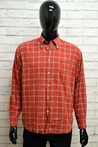 Camicia-ROBE-DI-KAPPA-Uomo-Taglia-M-Maglia-Shirt-Man-Manica-Lunga-Cotone-Quadri