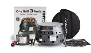 Volcano Collapsible Propane Grill Dutch Ovens Cooker Outdoors Camping Propane