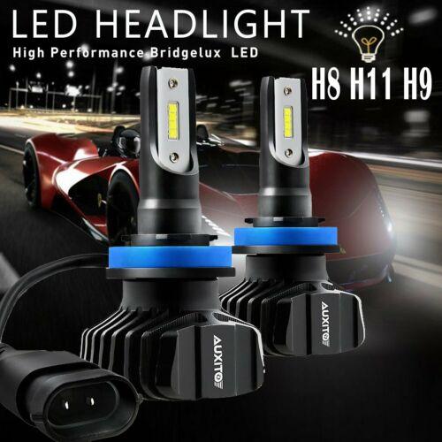AUXITO H11 H8 H9 LED Headlight Bulb Low Beam Kit Super Bright 6000K 9000LM EOA