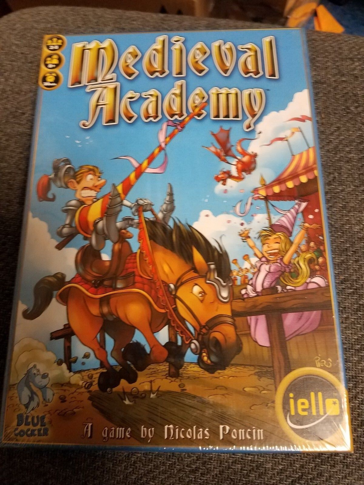 Medieval Academy - Iello Games Board Game New