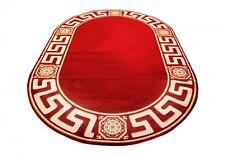 Teppich Oval Kunst Seide Mäander Medusa Möbel  Rug Carpet. 152 x 230 cm versac