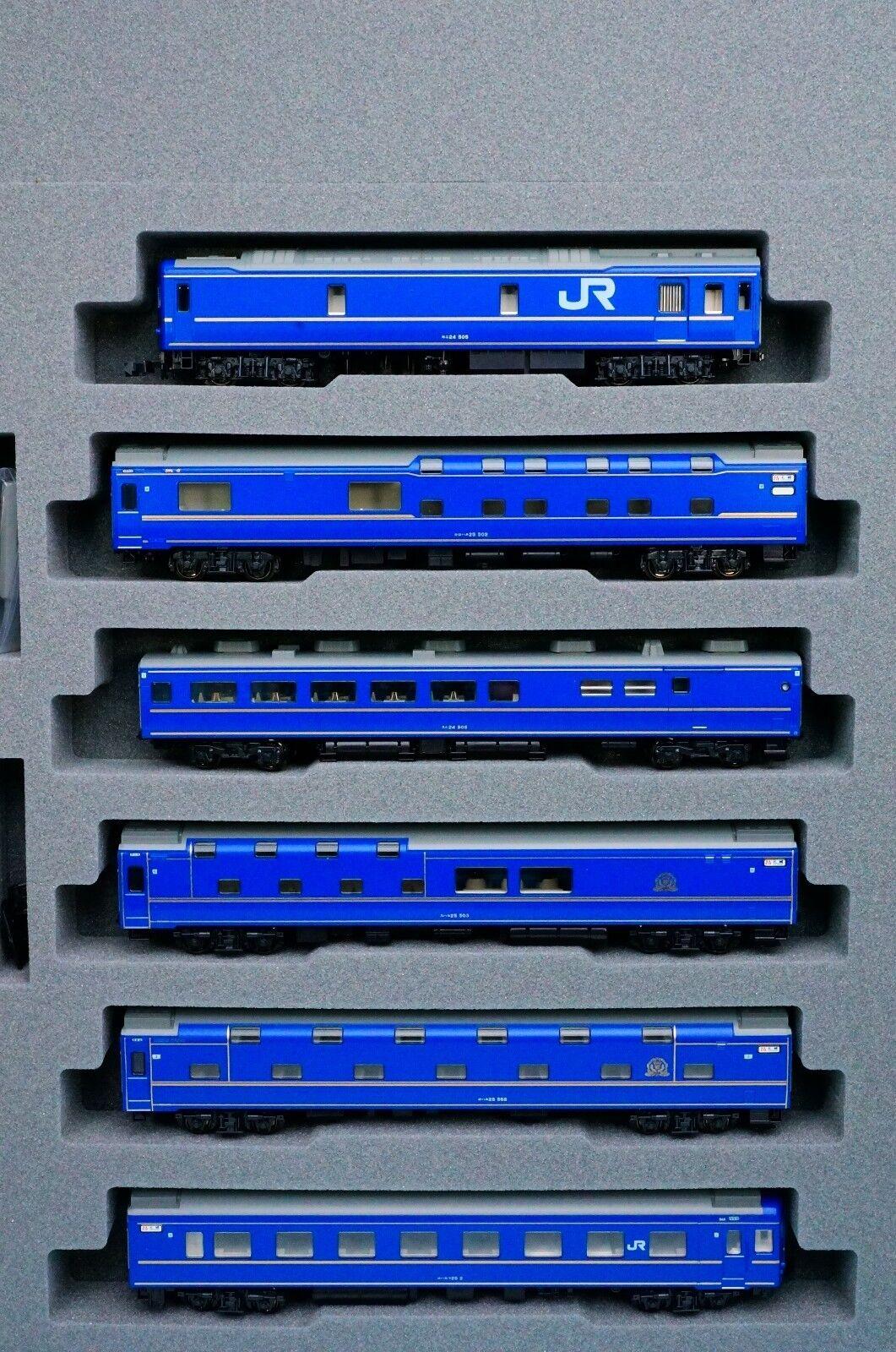 KATO 10-831 JR Limited Express Series 24 Hokutosei Basic 6-Car Set(N Scale) New