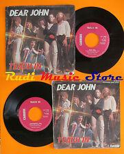 LP 45 7'' TEACH IN Dear john instrumental 1978 italy CARRERE IS 20231 cd mc*dvd