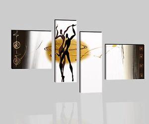 Quadri moderni componibili dipinti a mano su tela for Quadri componibili moderni