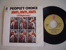 "PEOPLE'S CHOICE - Jam, Jam, Jam - We got the Rhythm - 7"" PIR Records 1976"