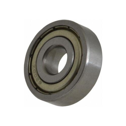 6200-Z Radial Ball Bearing Double Shielded Bore 10mm OD 30m Width 9mm Diameter