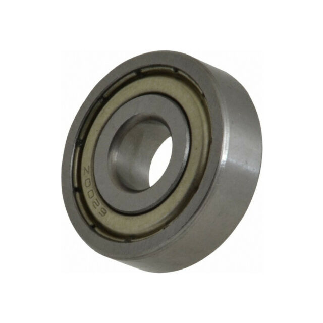 9mm OD 17mm Width 5mm MR689-ZZX10 Radial Ball Bearing Double Shielded Bore Dia