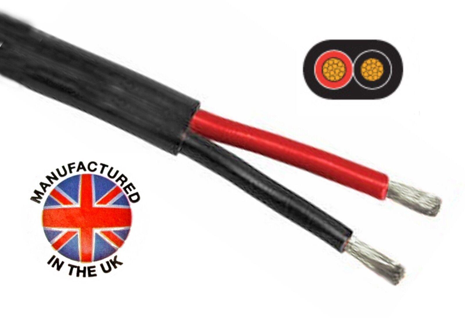 Paroi Mince Étamé Double Câble 'Oceanflex' 2 X 2.5mm 2.5mm 2.5mm ² (13/14awg) Tcc225tin d93c92