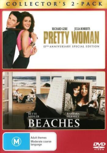 1 of 1 - Beaches / Pretty Woman (2 Discs)  - DVD - NEW Region 4