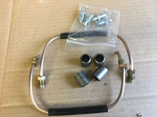 18ZR Brembo Caliper Link Pipes /& Mounting Reduction Spacers Audi S4 B5 models.