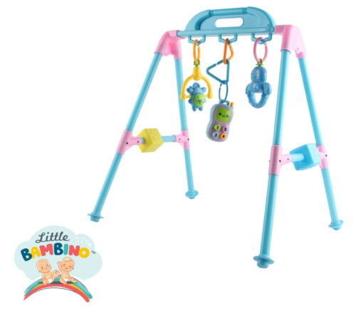 Little Bambino Musical Gym Multi-functional Activity Educational Fitness Frame