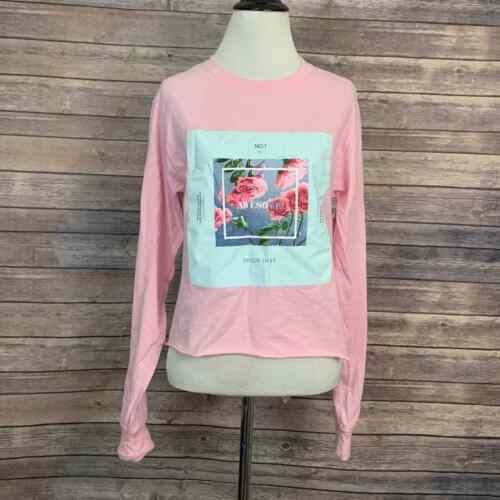 Taylor Swift Me! Long Sleeve Pink Crop Shirt (Size