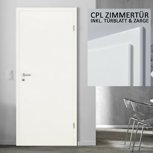 kuporta cpl zimmert ren uni wei lack weiss 5 11 t r mit zarge paket innent ren ebay. Black Bedroom Furniture Sets. Home Design Ideas