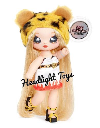 Series 3 Na Na Na Surprise Jennel Jaguar 2 IN 1 Fashion Doll Plush Pom Purse NEW
