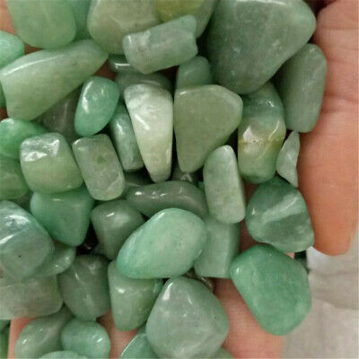 Green Agate Ore Crushed Gravel Stone Chunk Lots Degaussing Accessories fengshui