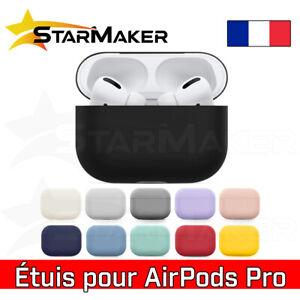 Etui pour AirPods Pro - Housse de protection Silicone coque antichoc écouteurs