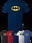 5XL LOT BATMAN Mens Adults T-SHIRT marvel DC Comics Super Hero Tshirt Sizes S