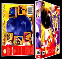 Brunswick Circuit Pro Bowling - N64 Reproduction Art Case/box No Game.