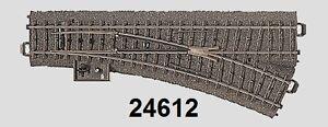 Maerklin-H0-24612-C-Gleis-Weiche-rechts-NEU-ohne-OVP