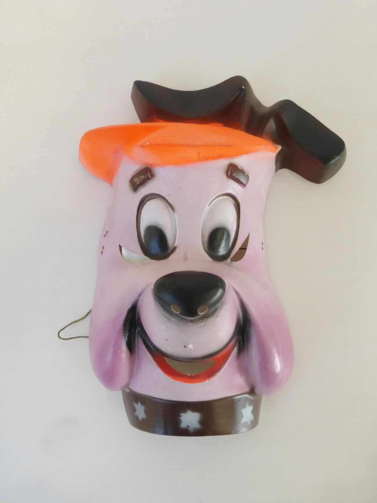 RUFF AND rougeDY HANNA BARBERA 1976 MASQUE CESAR n°352.2 VINTAGE 70's MASK