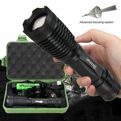 Zoomable Infrared IR Light Flashlight Hunting Illuminator Torch Lamp 850//940nm A