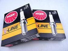 4x V-LINE 24 BKUR 6et-10 3045 CANDELA PER AUDI MERCEDES SEAT SKODA VW