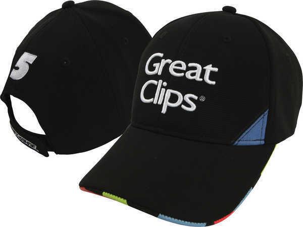 7752cc86e68 Kasey Kahne Great Clips 2015 Chase Authentics Element Adjustable Hat   Cap