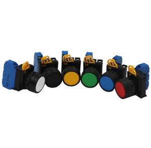 New 10Pcs Idec YW1B-M1E10R Red Push Button Switch ei