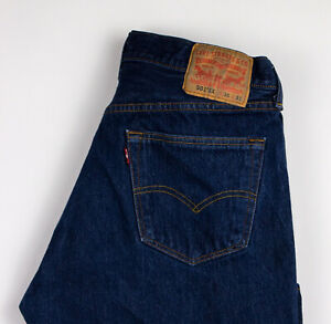 Levi-039-s-Strauss-amp-Co-Hommes-501-Xx-Jeans-Jambe-Droite-Taille-W36-L30-AKZ541