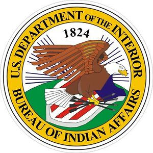U-S-Bureau-of-Indian-Affairs-Seal-Decals-Stickers