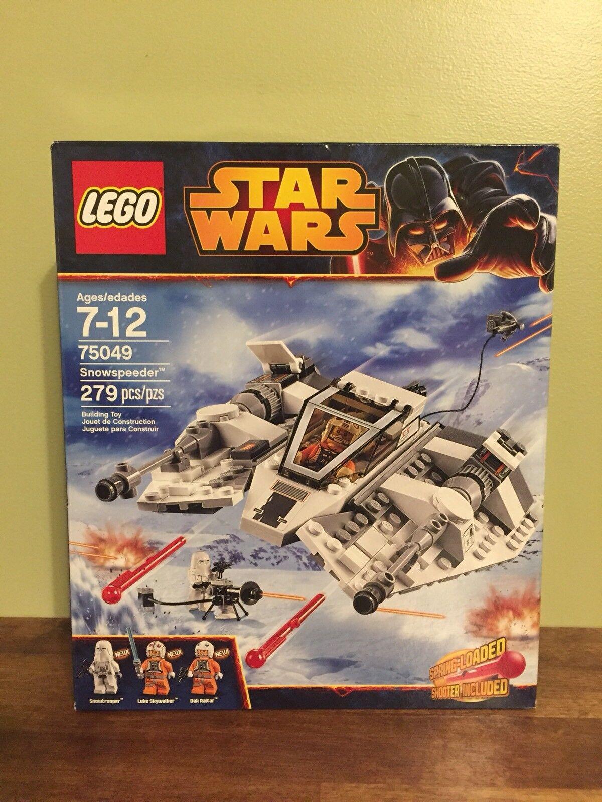 Nuevo Lego Star Wars 75049 Snowspeeder Building Toy Luke DAK RALTAR & Snowtrooper