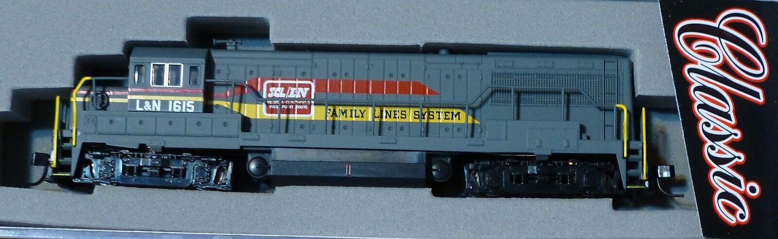 Atlas N  44717 GE U25B Phase 2B - Standard DC -- Family Lines - Louisville & Nas