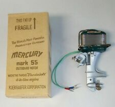 RARE 1955 K&O MERCURY MARK 55 Toy Outboard Motor - NEAR MINT w/ ORIGINAL BOX!