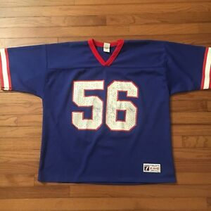 Vintage Lawrence Taylor Logo7 Buffalo Bills Jersey XL 50 52 NFL  for sale